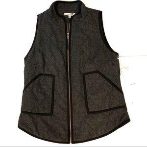 """NWT 41 Hawthorn Stitch Fix """"Shara"""" Gray Vest XS"""